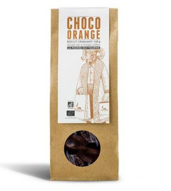Choco Orange 140g La Pierre Qui Tourne