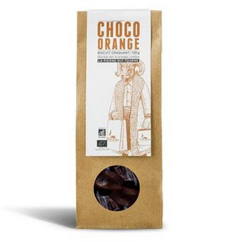 Choco Orange 140g La Pierre Qui Tourne