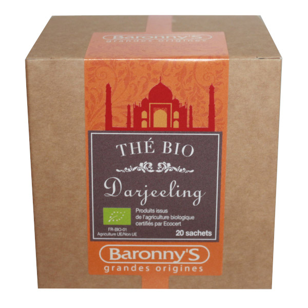 Baronny's thé darjeeling BIO 20 sachets
