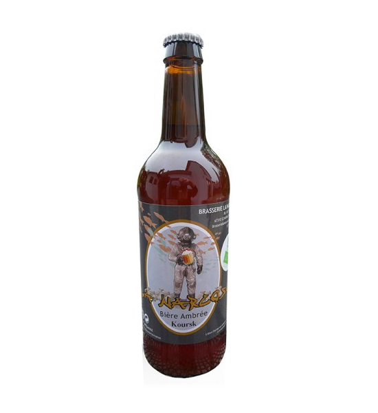 La Narcose Bière ambrée Koursk 33 cl