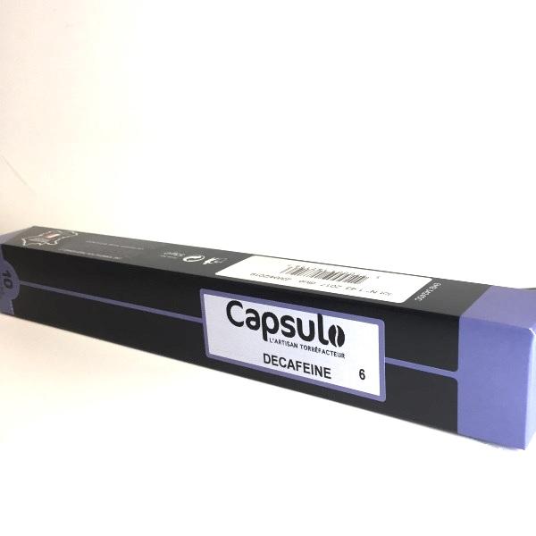 Capsulo décaféiné capsule compatible