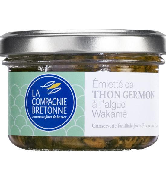 Emietté thon Germon Wakamé