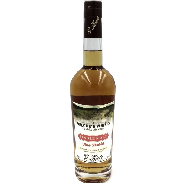 Miclo Welche Whisky Fine Tourbe 70cl