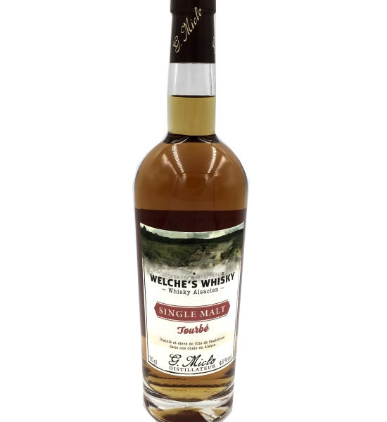 Miclo Welche Whisky Single Malt Tourbé 70cl