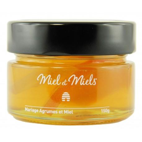 Miels&miels agrumes et miel 150g