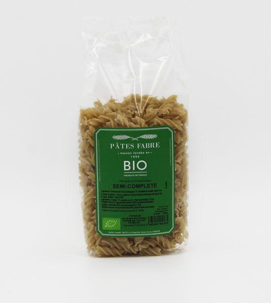 Pates Fabre BIO Torsade semi complet 250g