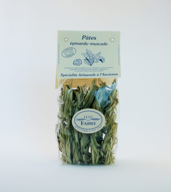Pates Fabre Tagliatelle épinards muscade 250g
