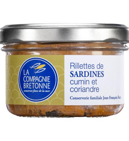 Rillette sardines cumin coriandre