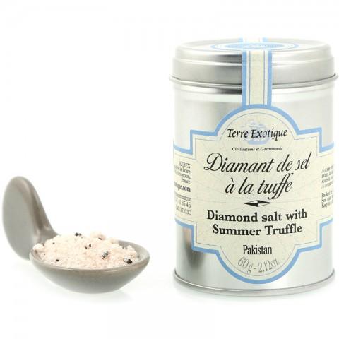 Terre exotique Diamant de sel à la truffe 60g