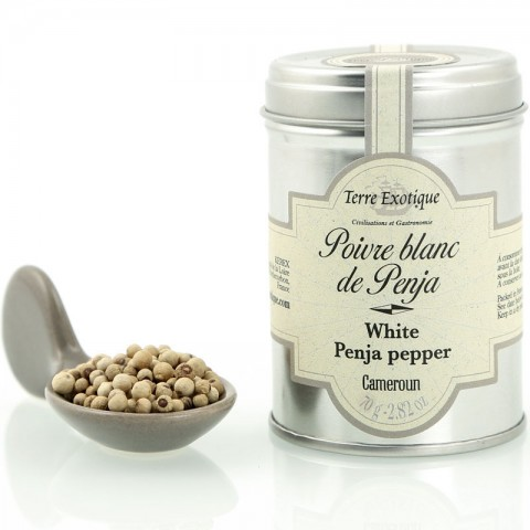 Terre exotique poivre de penja blanc 70g