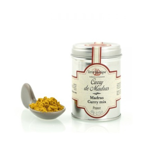curry de madras 60g Terre Exotique