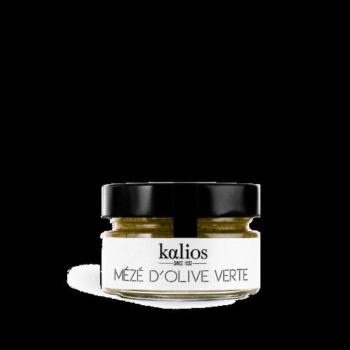 kalios-meze-creme olive-verte 90g