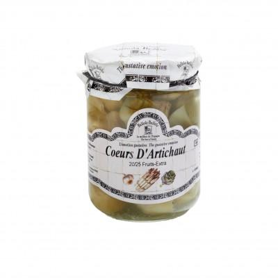 mini cœurs d'artichauts le-bocal-de-390g