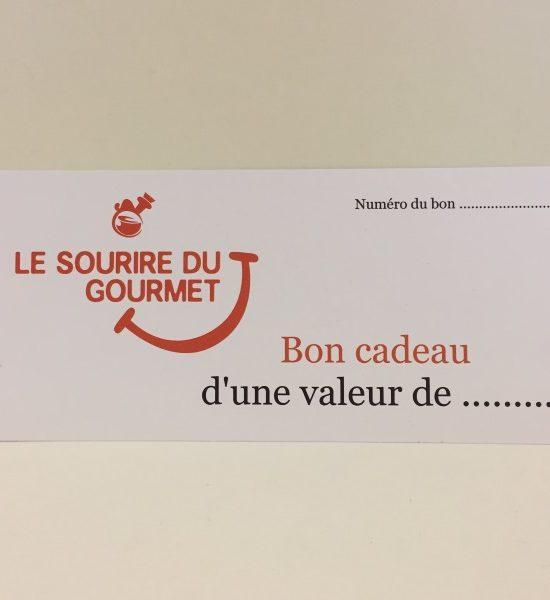 Le Sourire du Gourmet Bon Cadeau 600x600