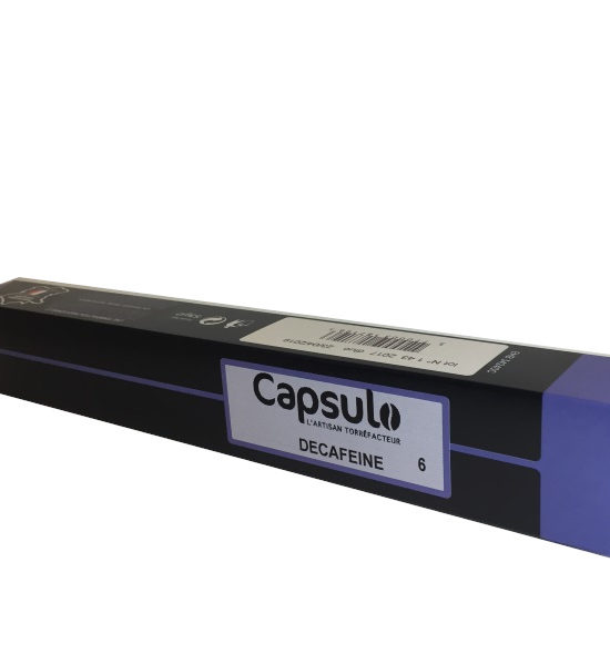 capsulo décaféiné 10 capsules