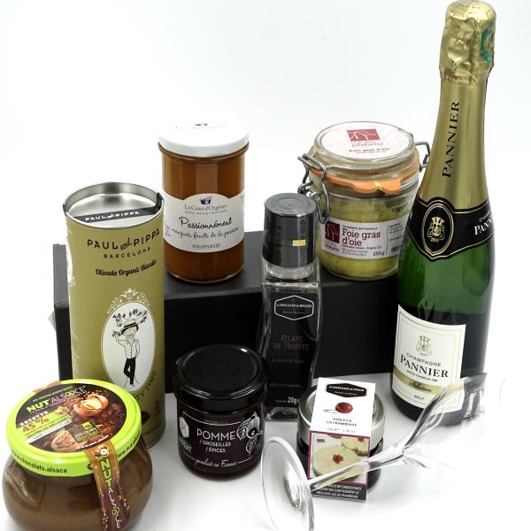 coffret cadeau gastronomique Symphonie Gourmande