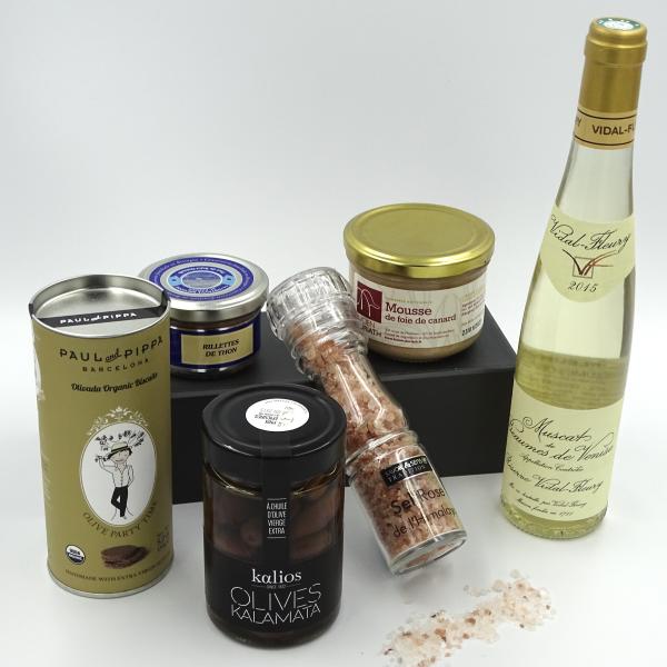 coffret cadeau gastronomique Tentation Gourmande