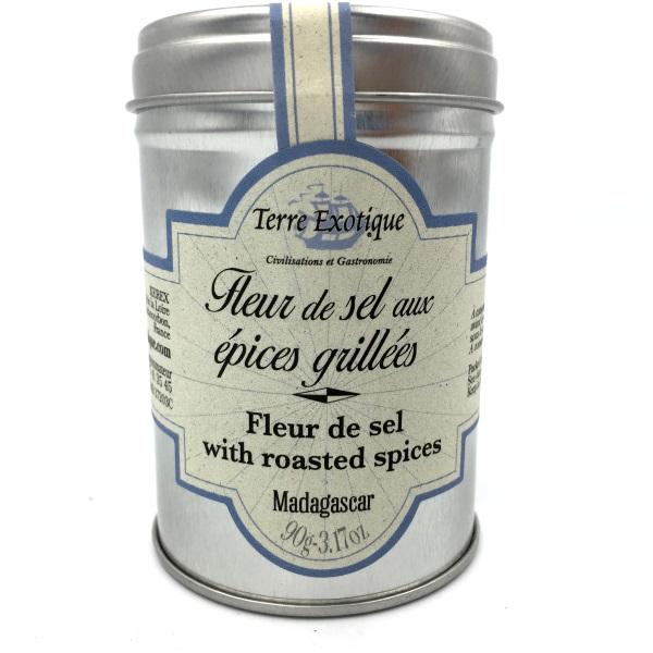 Terre exotique fleur de sel aux pices grill es 90 g le sourire du gourmet - Fleur de sel aux epices grillees ...