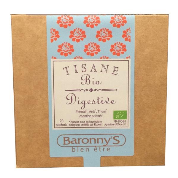 Baronny's tisane digestive BIO 20 sachets