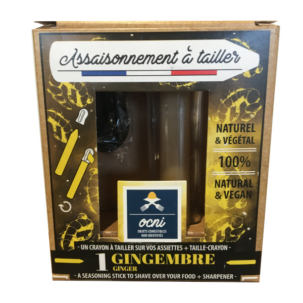 gingembre avec taille crayon 18g