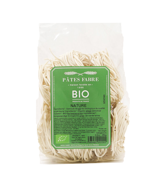 Pates Fabre Spaghettis Nid BIO 250g