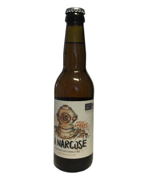 bière ambrée La NArcose
