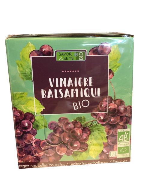Cubis Vinaigre Balsamique BIO 1,5 Litres Savor et Sens