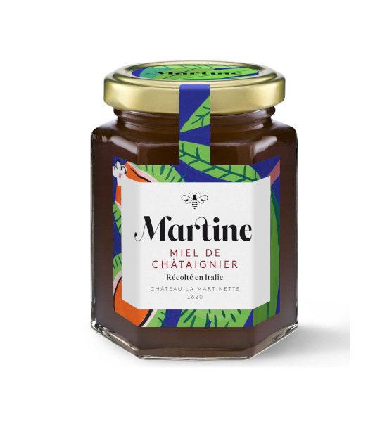 Miel Martine Châtaignier pot de 250g