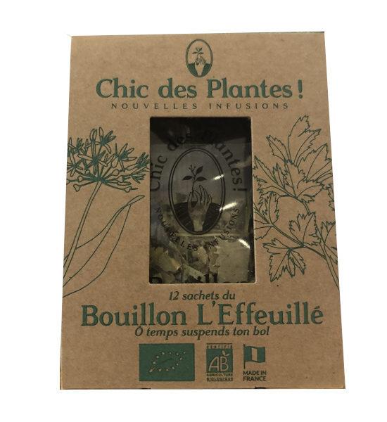 Chic des plantes le bouillon L'Effeuillé 12 sachets BIO