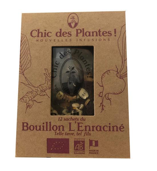 Chic des Plantes bouillon L'Enraciné 12 sachets BIO