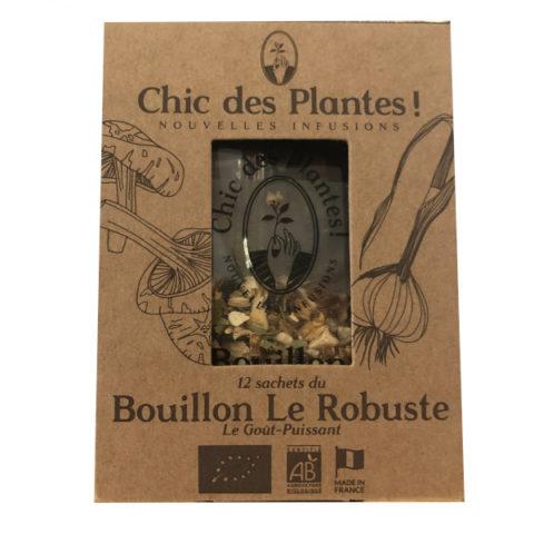 Chic des plantes bouillon Le RObuste 12 sachets BIO