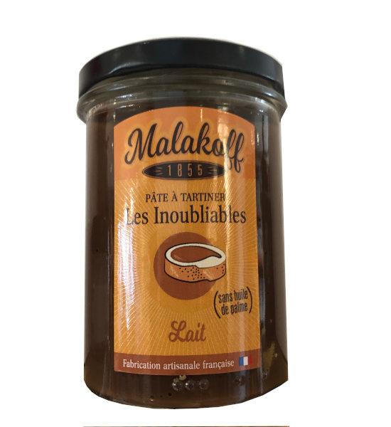 pâte à tartiner lait de Malakoff pot de 240g