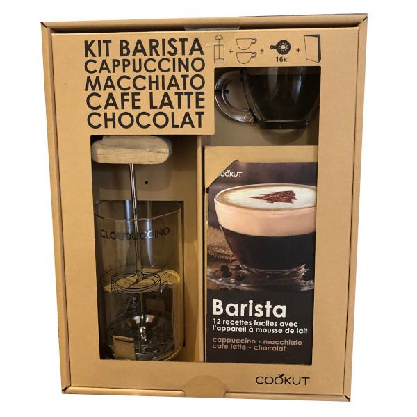 kit barista mousseur à lait de Cookut
