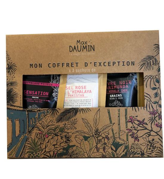 Max Daumin coffret d'exception 2 poivres et sel Himalaya