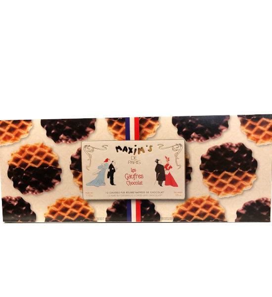 gaufre au chocolat Maxim's boîte de 110g