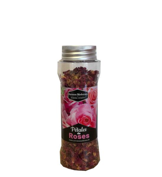 saveurs modernes pétales de rose 10g