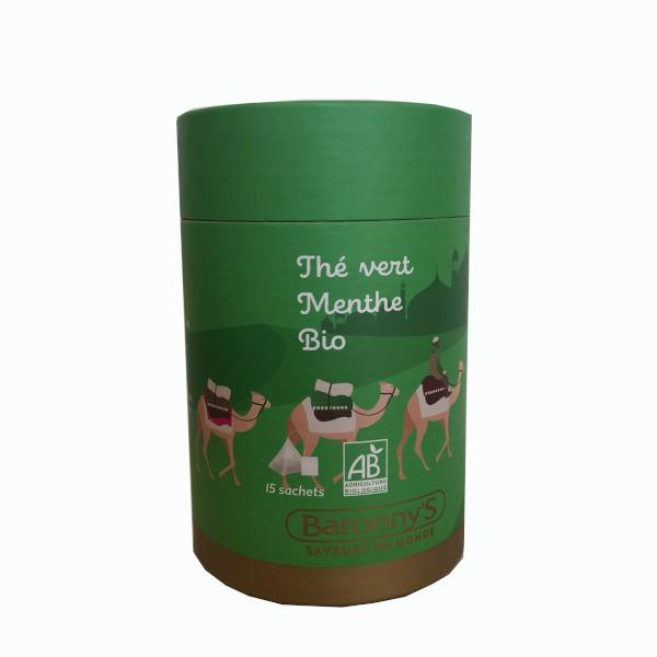 Barrony's thé vert menthe