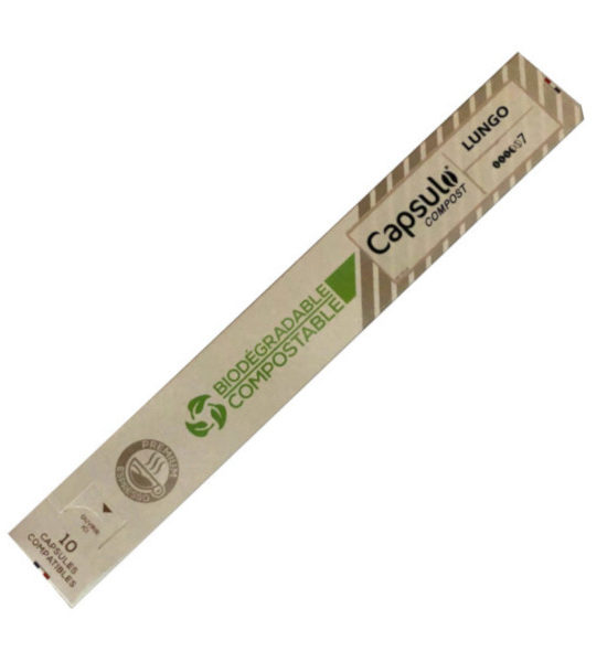 Capsulo Lungo biodégradable