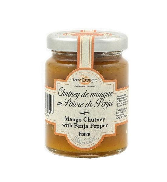Chutney de mangue au poivre de penja