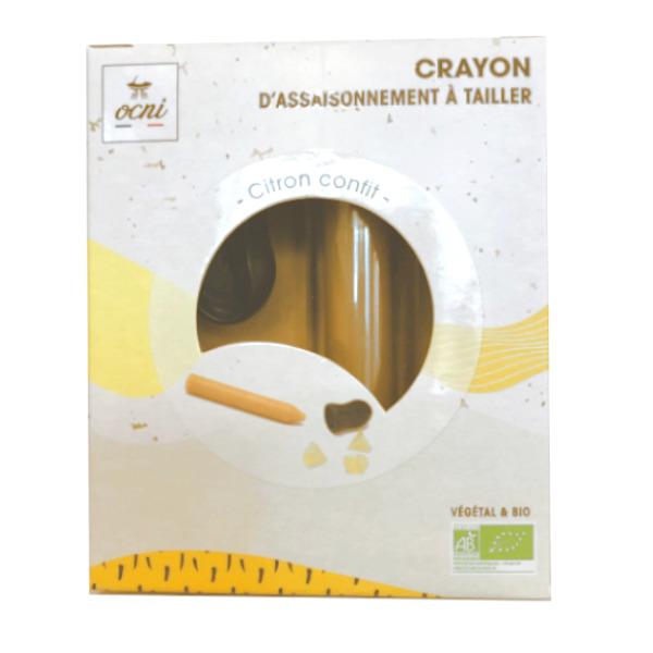 OCNI Crayon à tailler citron confit
