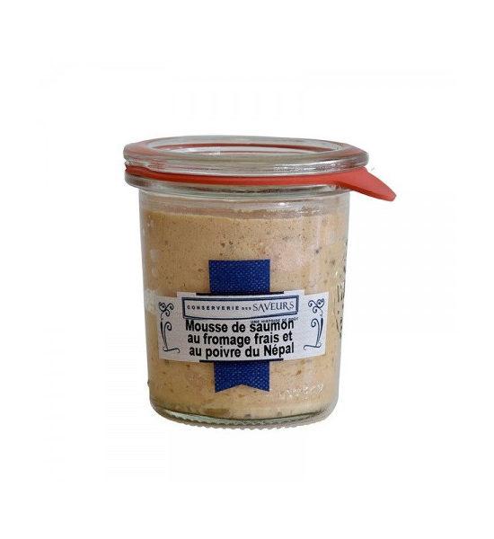 Mousse de Saumon fromage frais