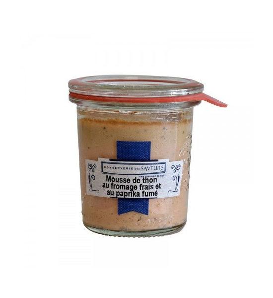 Mousse de Thon fromage frais et paprika fumé