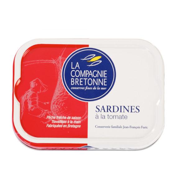 Sardine à la tomate
